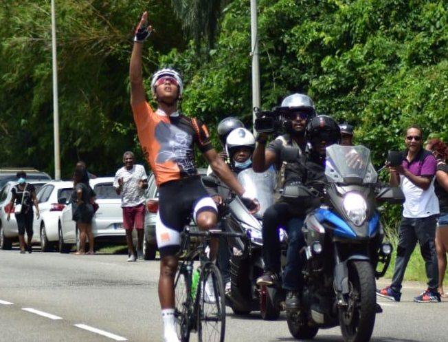 Mario Jandia, une valeur sûre du cyclisme guyanais