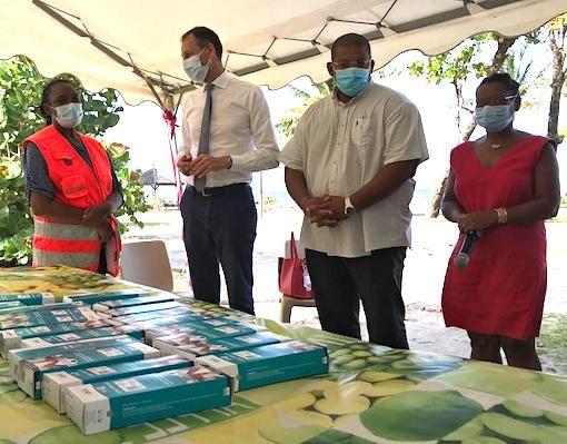 Covid-19. Face à la pandémie, les autorités se mobilisent à Capesterre Belle-Eau