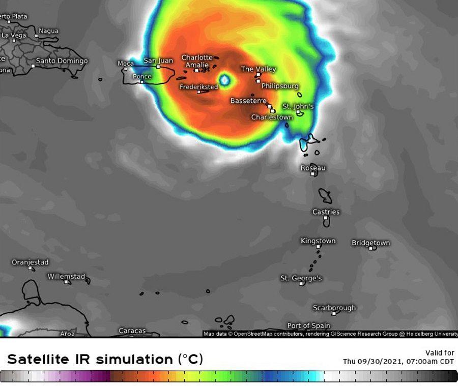 Les Iles du Nord sous la menace d'un puissant cyclone ?